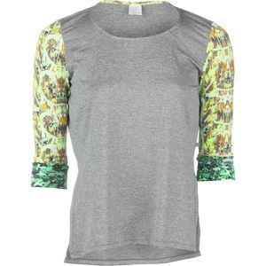 Maaji Blazing Lime Shirt - 3/4-Sleeve - Women's