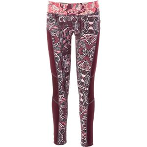 Maaji Aggie Maroon Tights - Women's