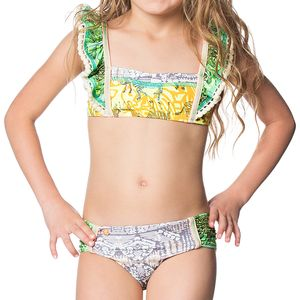 Maaji Lime Karaoke Bikini - Toddler Girls'