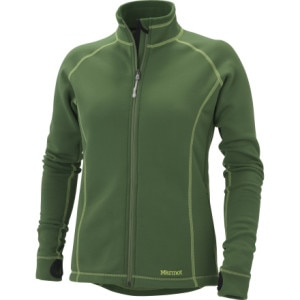 Marmot Power Stretch Full-Zip Fleece Jacket - Womens