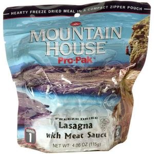 Mountain House Lasagna with Meat Sauce - 1 Serving Entree