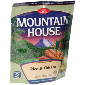 Mountain House Rice and Chicken - 2 Serving Entree