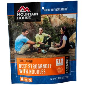 Mountain House Beef Stroganoff - 2 Serving Entree
