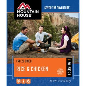 Mountain House Rice & Chicken - 1 Serving Entree