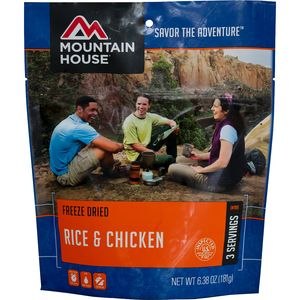 Mountain House Rice and Chicken - 3-Serving Entree