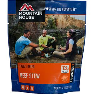 Mountain House Beef Stew - 2.5 Serving Entree