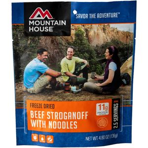 Mountain House Beef Stroganoff - 2.5 Serving Entree