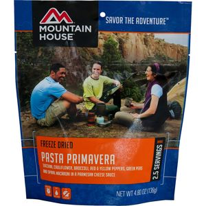 Mountain House Pasta Primavera - 2.5 Serving Entree