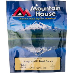 Mountain House Lasagna with Meat Sauce - 2 Serving Entree