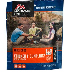 Mountain House Chicken & Dumplings - 2 Serving Entree