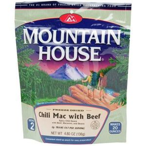 Mountain House Chili Mac w/ Beef - 2 Serving Entrée