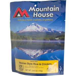 Mountain House Mexican Chicken with Rice - 3 Serving Entree