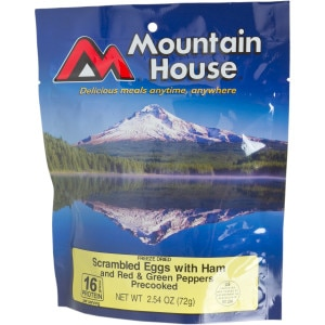 Mountain House Scrambled Eggs with Ham - Breakfast Entree