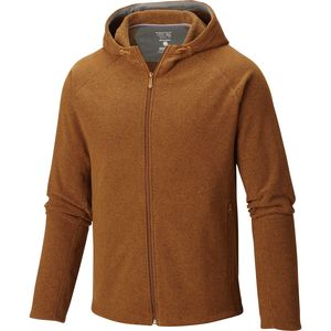 Mountain Hardwear Toasty Twill Fleece Hooded Jacket - Men's