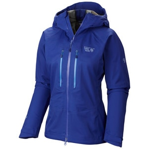 Mountain Hardwear Alchemy Hooded Softshell Jacket - Women's