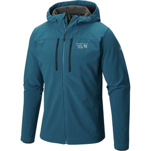Mountain Hardwear Hueco Hooded Softshell Jacket - Men's