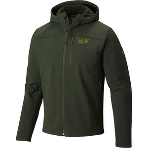Mountain Hardwear Ruffner Hybrid Hooded Jacket - Men's