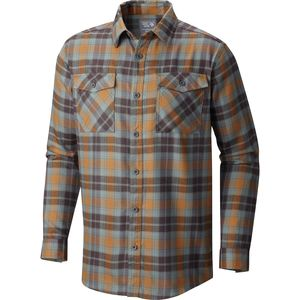 Mountain Hardwear Trekkin Flannel Long-Sleeve Shirt - Men's
