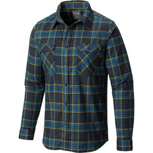 Mountain Hardwear Stretchstone Flannel Shirt - Long-Sleeve - Men's