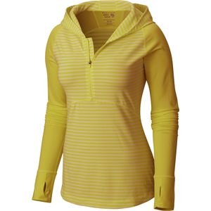 Mountain Hardwear Butterlicious Hooded Shirt - Long-Sleeve - Women's