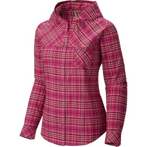Mountain Hardwear Tahoma Hooded Flannel Shirt - Long-Sleeve - Women's
