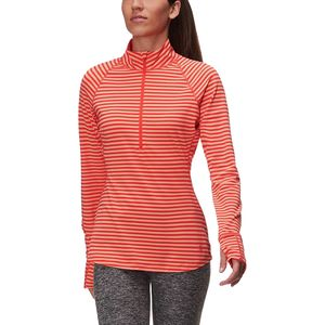Mountain Hardwear Butterlicious Stripe 1/2-Zip Shirt - Women's