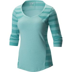 Mountain Hardwear Dryspun Perfect Elbow Shirt - 3/4-Sleeve - Women's