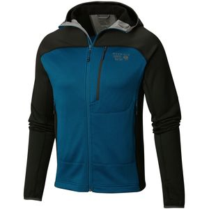 Mountain Hardwear Desna Grid Hooded Fleece Jacket - Men's
