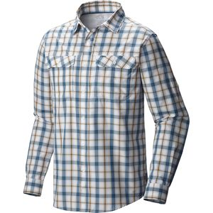 Mountain Hardwear Canyon Plaid Shirt - Long-Sleeve - Men's