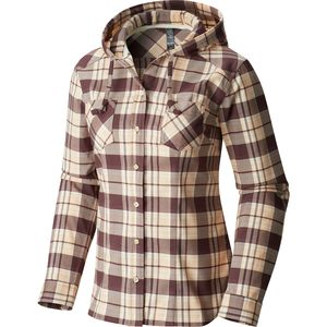 Mountain Hardwear Stretchstone Flannel Hooded Shirt - Women's