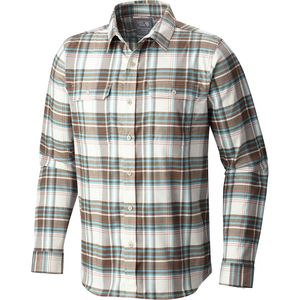 Mountain Hardwear Stretchstone Long-Sleeve Flannel Shirt - Men's