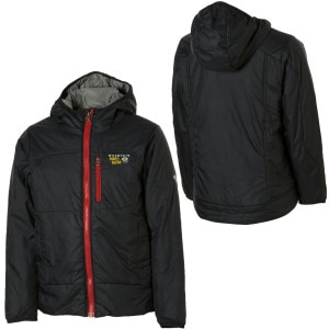 photo: Mountain Hardwear Boys' Compressor PL Jacket synthetic insulated jacket