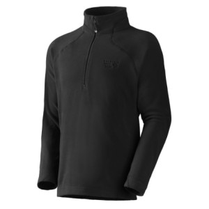 Mountain Hardwear Microchill Fleece Zip T Pullover - Mens
