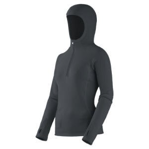Mountain Hardwear Power Stretch Hooded Top - Long-Sleeve - Womens