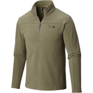 Mountain Hardwear Microchill Fleece Zip T Pullover - Men's