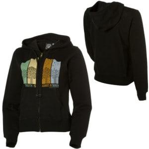 Mission Playground Truth Full-Zip Hooded Sweatshirt - Womens