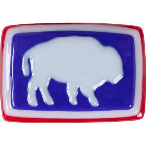 Mountain Khakis Glass Bison Belt Buckle