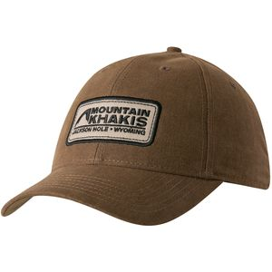 Mountain Khakis Waxed Cotton Cap