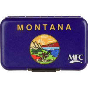 Montana Fly Company State Flag Fly Box