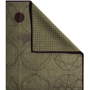 Manduka Sacred Geometry Yoga Mat Towel