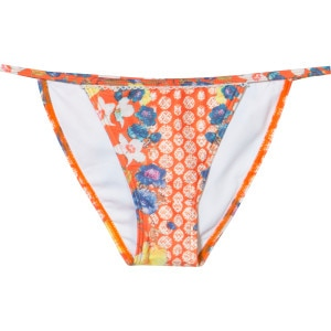 Mink Pink Orange Blossoms String Bikini Bottom - Women's