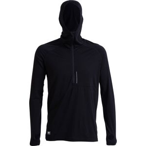 Mons Royale Temple Tech Hooded Zip Top - Men's