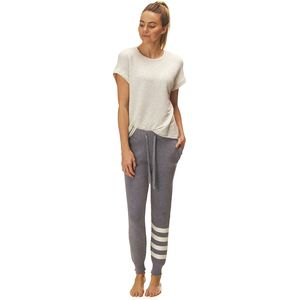 MonrowStriped Sporty Sweatpant - Women's