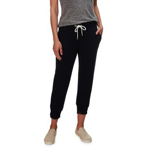 Monrow Cropped Sporty Sweat Pant - Women's