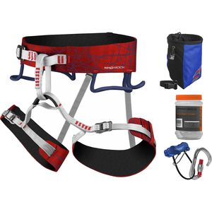 Mad Rock Mars Harness 4.0 Deluxe Climbing Package