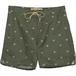 Mollusk Shaka Trunk Board Short - Men's