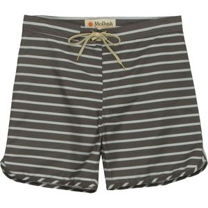 Mollusk Cut Out Stripes Trunks Board Short - Men's