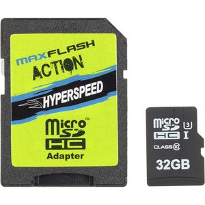 Maxflash Action Hyperspeed Micro SDHC - 32GB