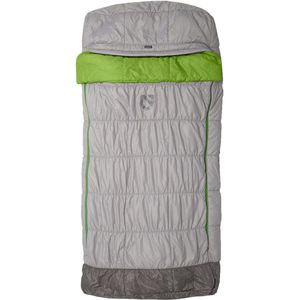 NEMO Equipment Inc. Mezzo Loft Luxury Sleeping Bag: 30 Degree Synthetic