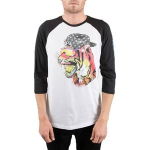Neff Fang Raglan T-Shirt - 3/4-Sleeve - Men's